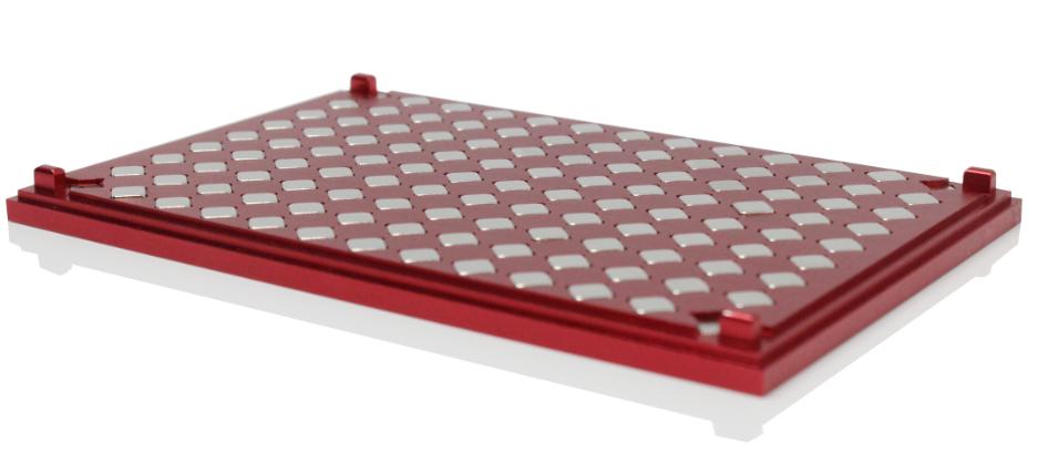 96孔酶标板(ELISA板)磁力架铝合金款